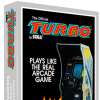 Turbo, a home video game for the ColecoVIsion video game console