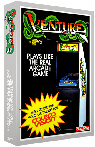 Venture, a home video game for the ColecoVision video game console