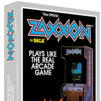 Zaxxon, a home video game for the ColecoVision video game console