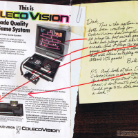 Magazine ad for ColecoVision, a home video game system by Coleco 1982