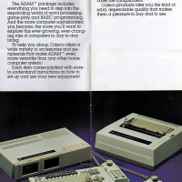 Brochure for the Coleco Adam Computer, 1983