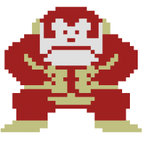 Donkey Kong, title character from home video game Donkey Kong, Coleco 1982