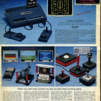 Sears catalog page for the Gemini, a home video game system by Coleco 1982