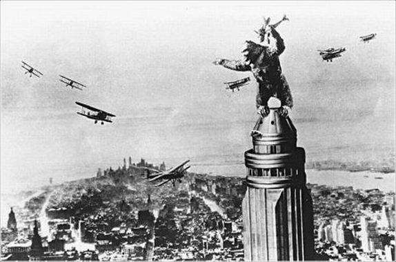 Still from the movie King Kong, Universal Studios 1933