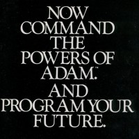Ad for ADAM, the home computer by Coleco 1983