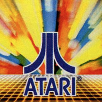 Logo for Atari, a video game company