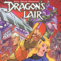 Cover of the Dragon's Lair comic collection, Arcana 2006