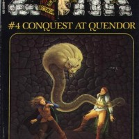 A book based on the Zork text adventure computer game, by Steve Meretsky