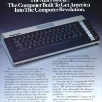 The 600XL, a home computer by Atari