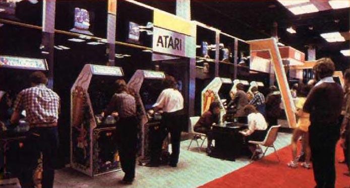 Atari arcade games, 1983 AOE