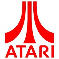 Logo for the Atari video game company