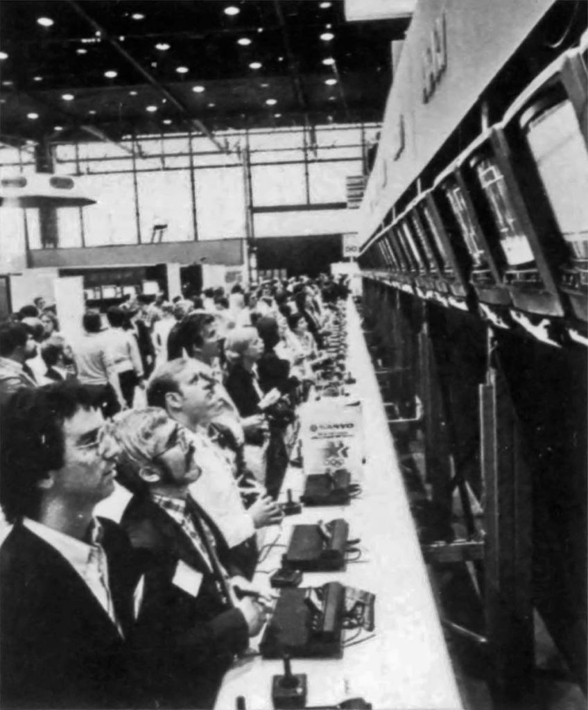 1982 Summer CES featuring Atari 2600 video game console