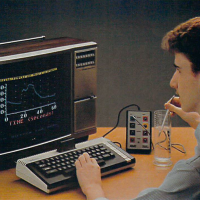 AtariLab, an attempt at entering the educational market by Atari, a video game company, 1984