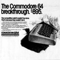 Commodore 64 home computer system