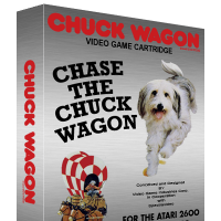 Chase the Chuck Wagon, a video game for the Atari 2600 home game console