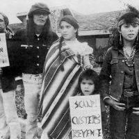 Custer's Revenge protestors, 1982