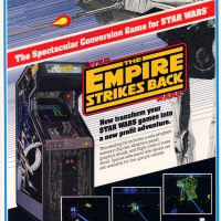Star Wars: The Empire Strikes Back, a video arcade game by Atari Games