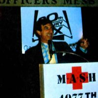 Jamie Farr promotes the M*A*S*H game for the Atari 2600 home video game system