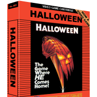 Halloween, a ghastly game for the Atari 2600 video game console