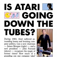 InfoWorld article on Atari, a video game company