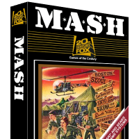 Box for MASH, a game by Fox Games for the Atari 2600 home video game console