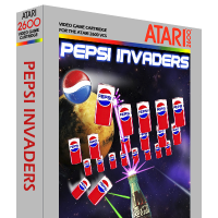 Pepsi Invaders, a video game for the Atari 2600 video game console