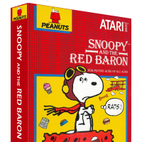 Snoopy and the Red Baron, a video game for the Atari 2600, 1983