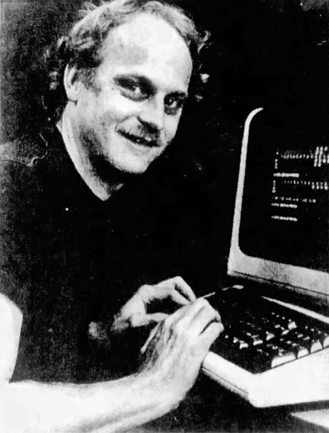 Tod Frye, creator of Atari Pac-Man for the 2600 video game console