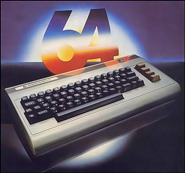Commodore 64, the popular home computer from Commodore 1982