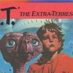 An excerpt of the cover of Atari's E.T. The Extra-Terrestrial