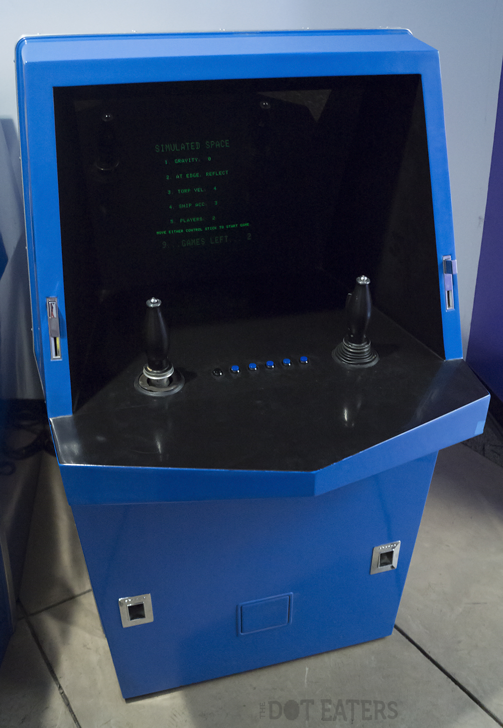 Galaxy Game, a coin-op video game by Computer Recreations 1971