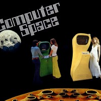 Advertising flyer for Computer Space