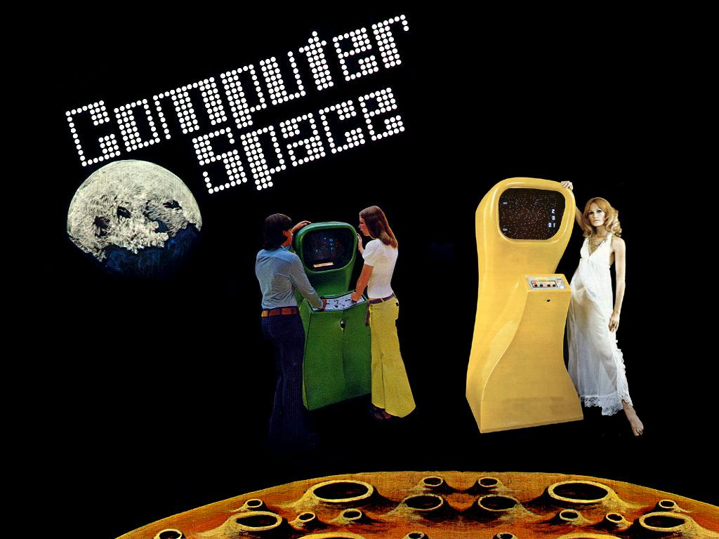 Sales flyer for Computer Space arcade video game