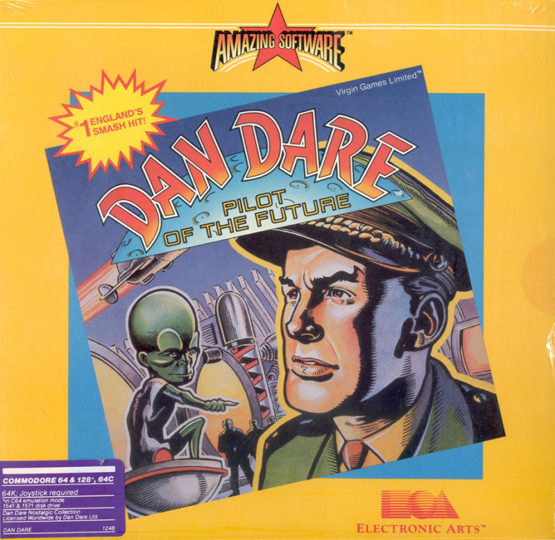 Dan Dare, a computer game from the Amazing Software label of EA