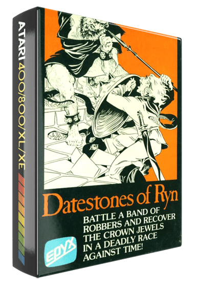 Datestones of Ryn, a computer role playing game for Atari 8-bit home computers