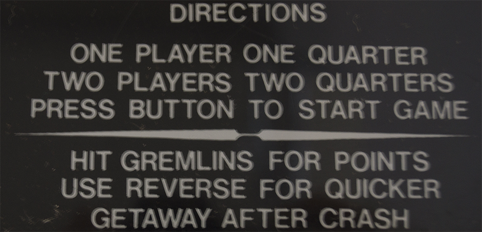 Instructions for killing 'gremlins""