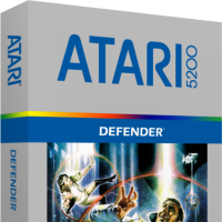 Defender, a home video game for the Atari 5200 video game console