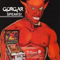 Gorgar, a pinball game by Williams Electronics