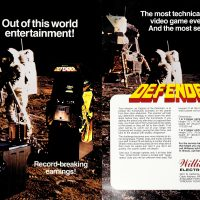 Defender, an arcade video game by Williams