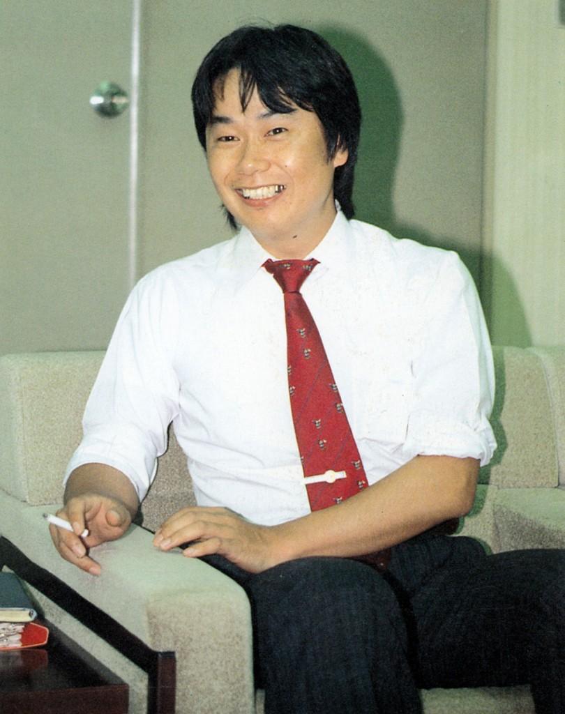 Image of Shigeru Miyamoto, Nintendo video game designer