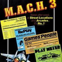 M.A.C.H. 3, an arcade laserdisc video game by Mylstar