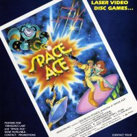 Space Ace, an arcade laserdisc game by Magicom