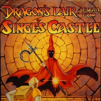 Box art for Dragon's Lair: Escape From Singe's Castle, a computer game by Visionary 1990