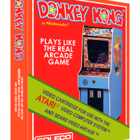 Donkey Kong, a home video game for the Atari 2600 video game console