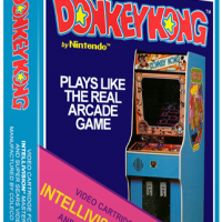 Donkey Kong, a home video game for the Mattel Intellivision video game system