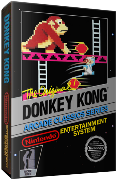 Donkey Kong, a home video game for the NES video game system
