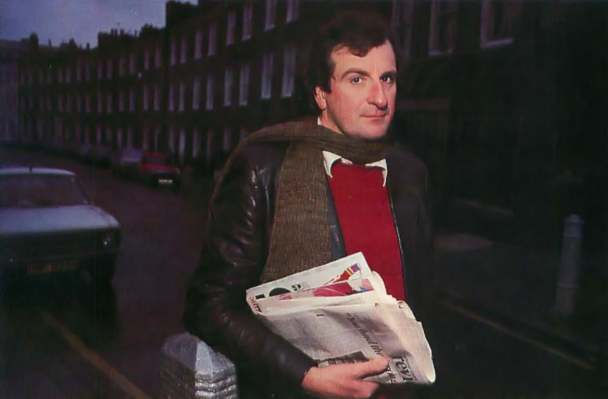 Douglas Adams, author of Hitchhiker's Guide to the Galaxy, 1985