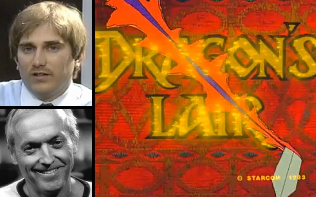 Arcade video game Dragon's Lair creators Rick Dyer and Don Bluth