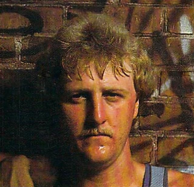 Larry Bird, star of NBA basketball and EA computer sports game One-on-One