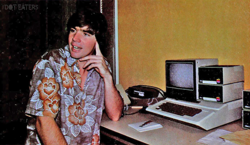 Bill Budge, a computer video game programmer